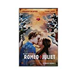 SHUOJIA Filmposter Romeo und Julia, Leinwanddruck,