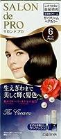 サロンドプロザ・クリームヘアカラー(白髪用) 6                         ダークブラウン × 24個セット