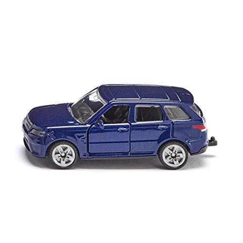 SIKU 1521, Range Rover, Metal/Plástico, Azul, Enganche para remolque, Compatible con otros modelos SIKU de la misma escala