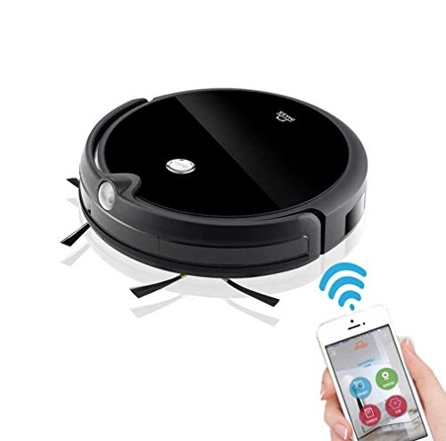 Buy BYBYC Robot Vacuum Cleaner, Robot Vacuum Cleaner, 1200 Pa Suction, 360 ° Anti-Fall Sensor, Quie...