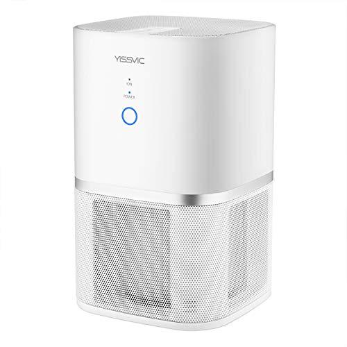 Yissvic Luftreiniger Air Purifier 5-Stufen-Filterung für 99,97%...