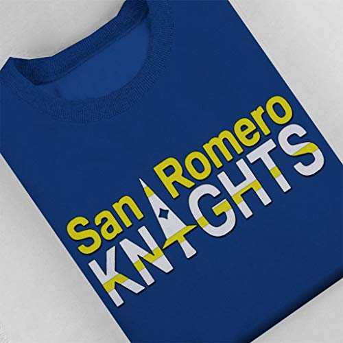 Cloud City 7 Lollipop Chainsaw San Romero Knights - Sudadera para Mujer Royal Blue S