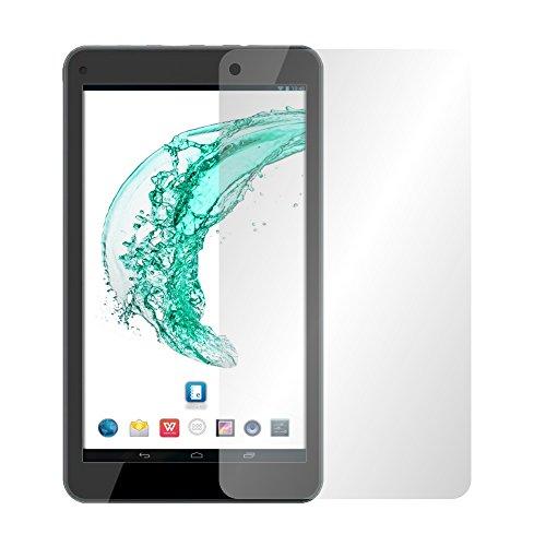 Slabo 2 x Bildschirmschutzfolie für Odys Mira Bildschirmschutz Schutzfolie Folie Crystal Clear KLAR