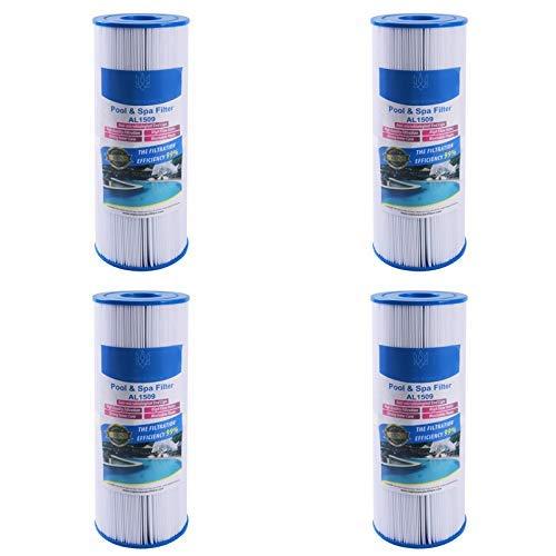 Alford & Lynch Whirlpool Filter Unicel c4950 / C-4950 50' Spa Kartusche Pleatco PRB501N Darlly 40506 für Arctic, Beachcomber, Canadian, Hydropool & Jacuzzi Spas X 4