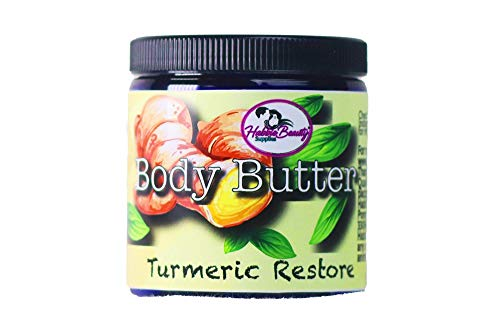 Whipped Turmeric Body Butter | Natural Body Butter | Turmeric Cream | Whipped Shea Butter | Organic | Skin Moisturizer | Intense Hydration | All Skin Types
