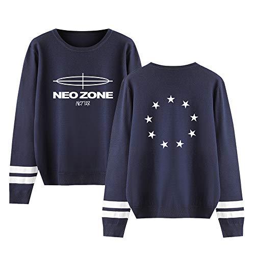 Landove NCT 127 Neo Zone Gebreide Top Unisex Honkbal Trui