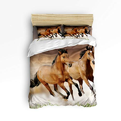 cute horse print bedding sets