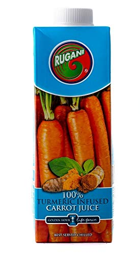 Turmeric Infused Carrot Juice – 100% Pure Natural Fresh Juice Health Drink
