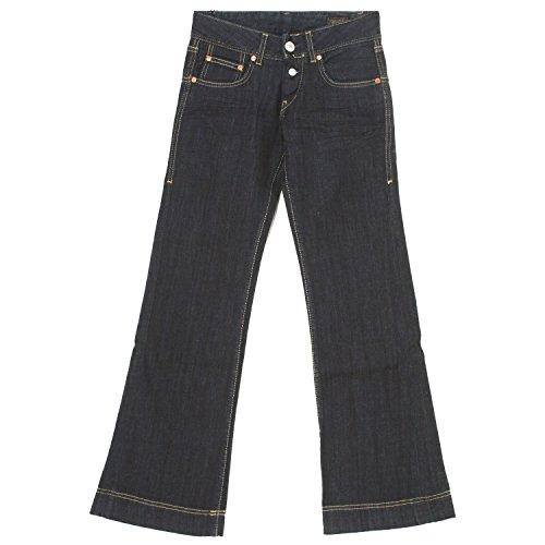 Herrlicher, Judie, Damen Damen Jeans Hose Stretchdenim Blue Raw W 24 L 34 [19969]