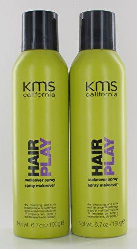 KMS Hair Play Makeover Spray 6.7oz Pack Of 2