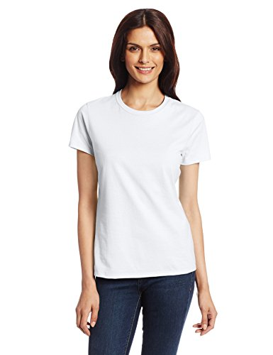 Hanes Women's Nano T-Shirt, Medium, White