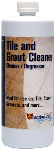 TractionWash TRWA32 1-Quart Heavy Duty Tile and Grout Cleaner