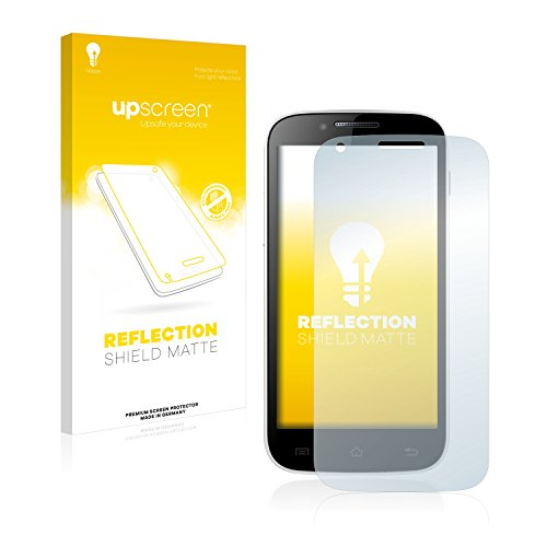 upscreen Entspiegelungs-Schutzfolie kompatibel mit Kazam Trooper 2 (4.5) – Anti-Reflex Bildschirmschutz-Folie Matt