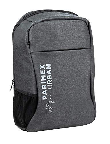 PARIMEX URBAN Mochila Backpack Connect Waterproof. 15L. 46 cm.  Gris