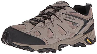 Merrell Men's Moab FST Leather Waterproof Hiking Boot,Boulder,US 7.5 W