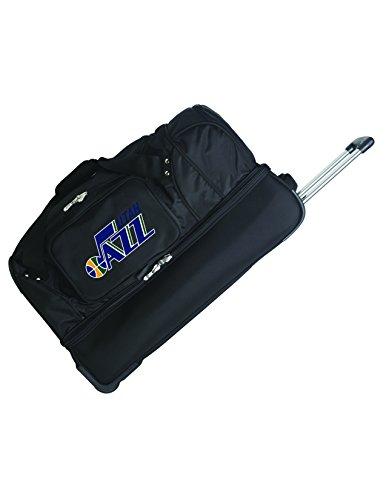 Affordable NBA Utah Jazz Rolling Drop-Bottom Duffel Bag, 27-inches