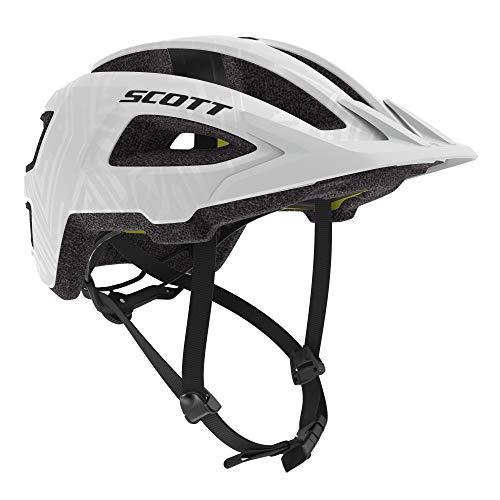 Scott Groove Plus MIPS Fahrrad Helm weiß 2021: Größe: S/M (52-58cm)
