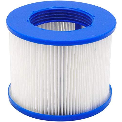 AQUAPARX Filter Whirlpool Ersatzfilter Wellness Spa Whirlpoolzubehör Lamellen; geeignet für Aqua Spa, Aquaparx, Ospazia, G Spa, Bcool, Mspa, Nordic Spa, Intex etc.