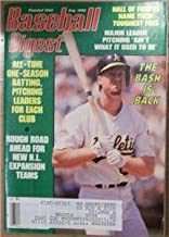 Baseball Digest Magazine - August 1992 - Mark McGwire - Oakland Athletics