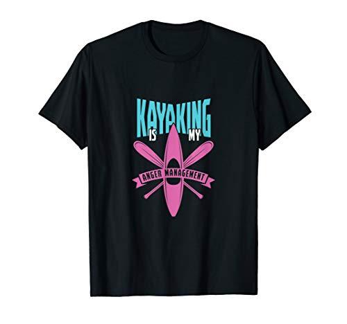 Kanu Paddler Kajak Paddeln Kanusport Kanufahrer Geschenk T-Shirt