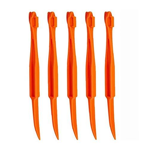 Naranja Citrus peladoras, plástico fácil de la máquina de Corte Peeler abrelatas del removedor de Cocina Accesorios Cuchillo de Cocina Herramienta de la Cocina Gadget