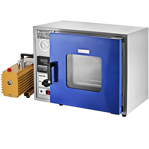 Mophorn Vacuum Drying Oven With Dual-Layer Tempered Glass Window