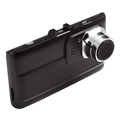 Grabadora de conducción de visión nocturna de alta definición oculta, pantalla IPs de alta definición de 3.0 pulgadas, gran angular de 160 grados, grabación de bucle, detección de movimiento, detecció