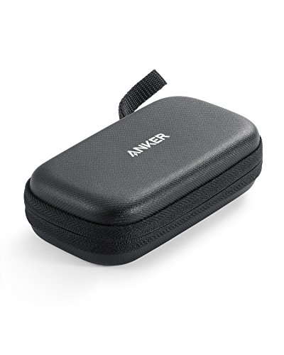 Official Anker Hard Case for Anker PowerCore 10000, PU Leather Premium Protection Travel Case for Portable Chargers, Water Resistant Exterior and Drop-Proof Carrying Case for Power Banks