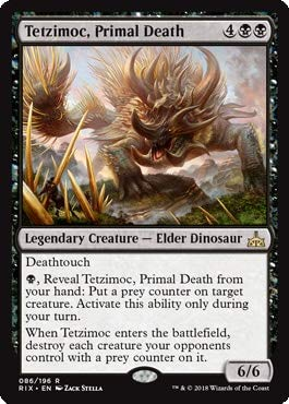 Magic: the Gathering - Tetzimoc, Primal Death - Tetzimoc, Morte Primordiale - Rivals of Ixalan