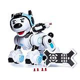 JUGUETRÓNICA- Robodog - Perro Robot para Niños Interactivo Capaz de ladrar, Bailar, y con sensores (JUG0368)
