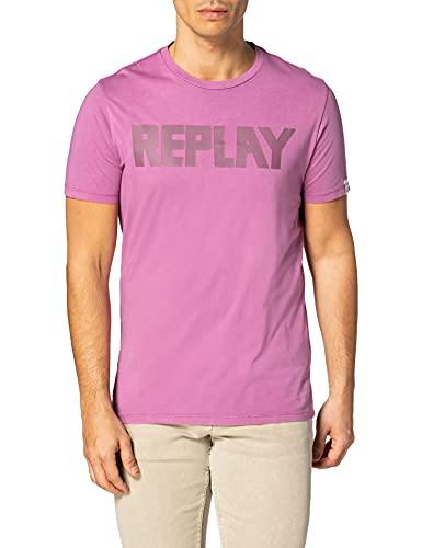 REPLAY M3409 .000.23156G Camiseta, 306, M para Hombre