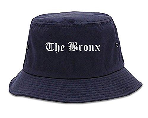 Kings Of NY The Bronx City New York NY Goth Bucket Hat Navy Blue