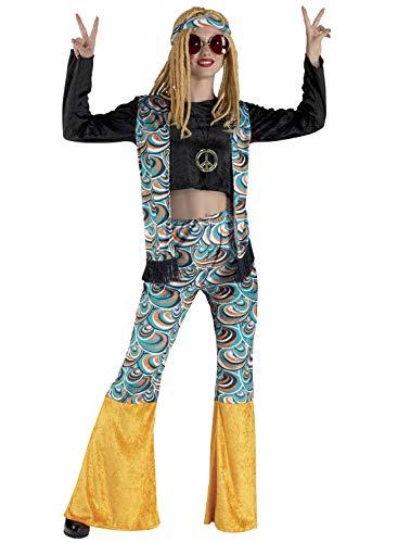 chiber Disfraces Disfraz Hippy para Mujer