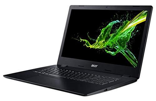 Acer Aspire 3 A317-51G-7837 Notebook Black 43.9 cm (17.3') 1920 x 1080 pixels 10th gen Intel Core i7 8 GB DDR4-SDRAM 1000 GB SSD NVIDIA GeForce MX250 Wi-Fi 5 (802.11ac) Windows 10 Home -