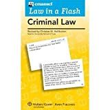 Image of Law in a Flash Criminal Law byEmanuel