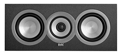 ELAC Uni-fi UC5 Center Speaker (Black, Single)