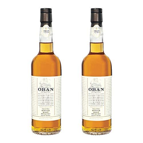 Oban 14 Years/Jahre, 2er, Single Malt, Whisky, Scotch, Alkohol, Alokoholgetränk, Flasche, 43%, 200 ml, 581375