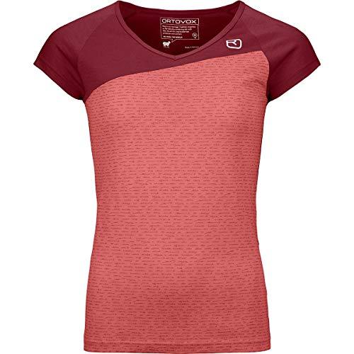 ORTOVOX Damen 120 Tec T-Shirt, Blush, L