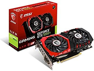 MSI VGA GeForce GTX 1050 Ti Gaming 4G GTX1050Ti 4GB GDDR5 128b DX12 PCIE 3.0 x16 (1xDVI 1xHDMI 1xDP)