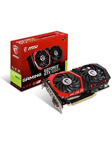 MSI GeForce GTX 1050 Ti Gaming 4G 4GB GDDR5 Grafikkarte - DVI/HDMI/DisplayPort