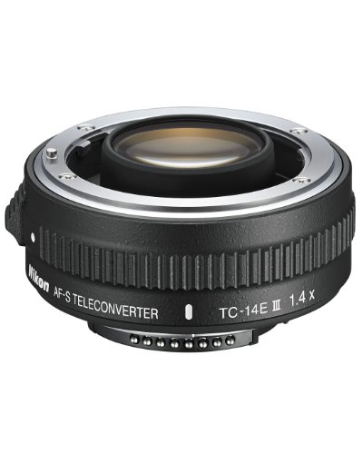 Nikon AF-S FX TC-14E III (1.4x) Teleconverter Lens with Auto Focus for Nikon DSLR Cameras