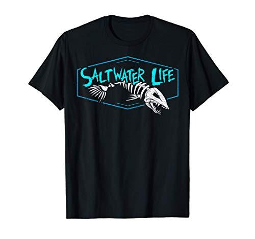 Saltwater Life T-shirt - Fishing Shirts T-Shirt