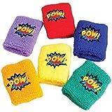 U.S. Toy Superhero Wristbands (24 Count)
