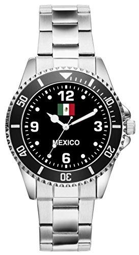 Mexico Geschenk Artikel Idee Fan Uhr 6337