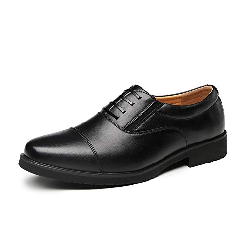 Casual Shoes Business Oxfords voor mannen, casual, mocassins, formele schoenen, veters, rond, elastisch leer, microvezel, brochure design, antislip schoenen