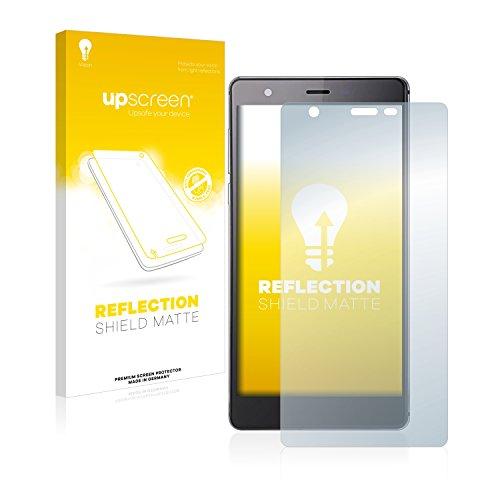 upscreen Entspiegelungs-Schutzfolie kompatibel mit Oukitel U13 – Anti-Reflex Bildschirmschutz-Folie Matt