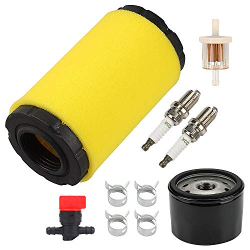 Yermax 793569 793685 Air Filter with 696854 Oil Filter for Briggs & Stratton Intek Series 20-21 Gross HP Engine Replace John Deere GY21055 MIU11511