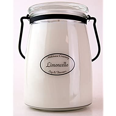 Milkhouse Candle Creamery Limoncello 22 oz. Butter Jar Candle