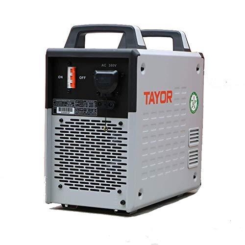 LONGWDS Módulo 400 / 500A Soldador eléctrico Módulo Doble Arco IGBT 380V Digital Inverter DC máquina de Soldadura de Mano Portable Industria CE Certificado (500Package 1: Unidad Central + Llave Allen