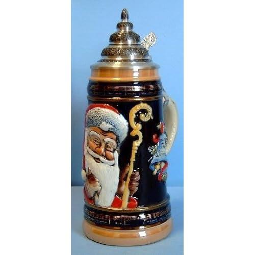 d66588fc6d9484 Old World Santa LE German Christmas Beer Stein .5L Made in Germany Mug